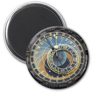 Astronomical Clock or Prague Orloj Refrigerator Magnets