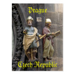 Astronomical Clock or Prague Orloj Postcards