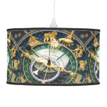 Astronomical Clock Pendant Lamp