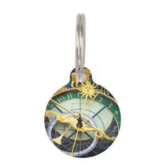Astronomical Clock Pet ID Tag