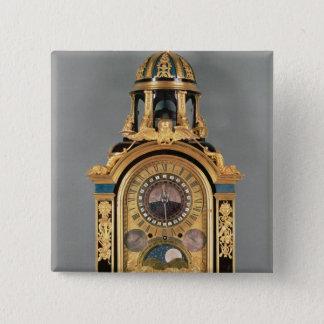 Astronomical clock pinback button