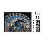 Astronomical clock postage stamp