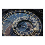 Astronomical clock posters