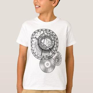 < Astronomical clock >Prague astronomical clock T-Shirt