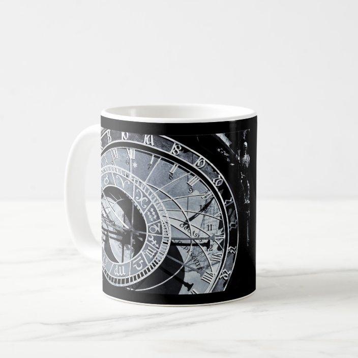 Astronomical Clock Prague Flag Czech Republic Coffee Mug Zazzle Com