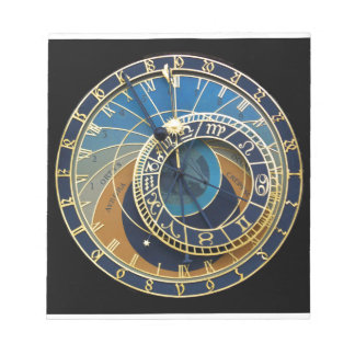 Astronomical Clock-Prague Orloj Notepad
