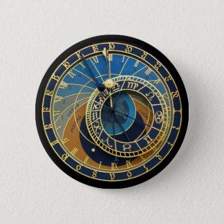 Astronomical Clock-Prague Orloj Pinback Button