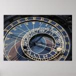 Astronomical clock print