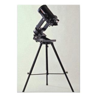 Astronomical lens 5x7 paper invitation card