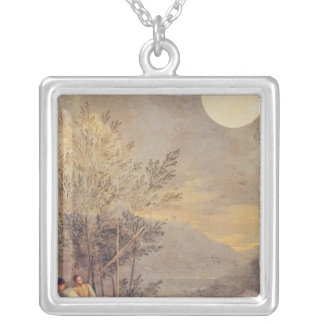 Astronomical Observations 2 Silver Plated Necklace
