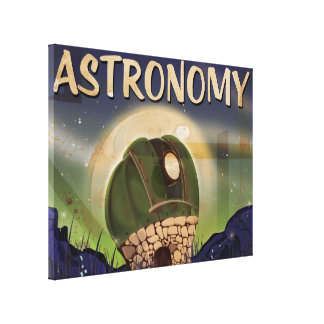 Astronomical Observatory Canvas Print
