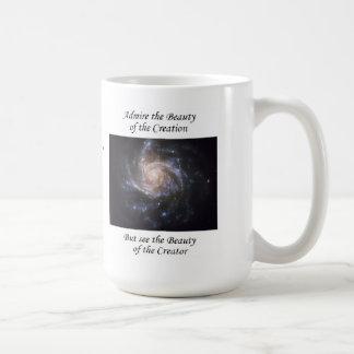 Astronomical photos with life affirmations coffee mug