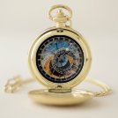 Astronomical themed pocket watch - engravable