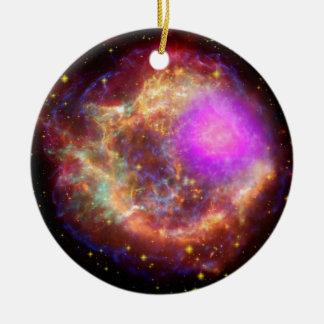Astronomical wonder ceramic ornament