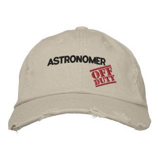 Astrónomo fuera de servicio gorra de béisbol