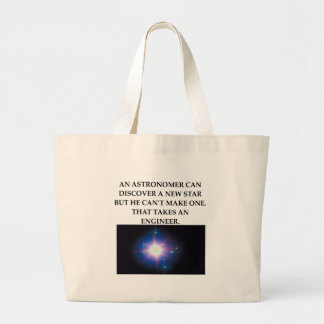 astronomy and engineering tote bag