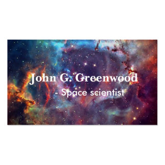Astronomy and space science professional Double-Sided standard business cards (Pack of 100)