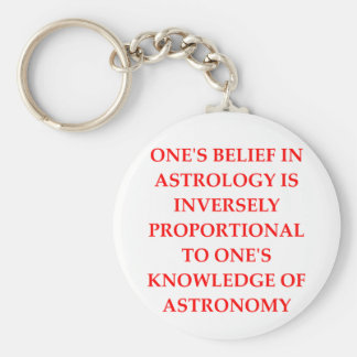astronomy astrology joke key chains