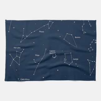 astronomy background towel