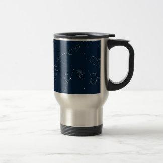 astronomy background travel mug