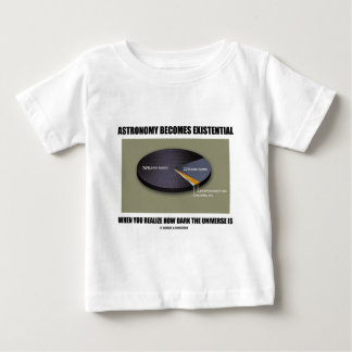 Astronomy Becomes Existential When Realize Dark Baby T-Shirt