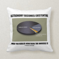 Astronomy Becomes Existential When Realize Dark Pillow