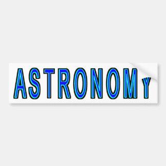 Astronomy Bumper Sticker