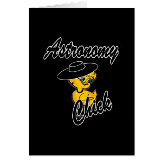 Astronomy Chick 4 Card