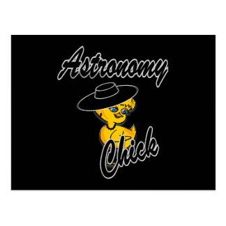 Astronomy Chick #4 Postcard
