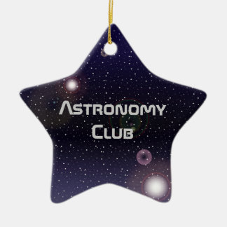 Astronomy Club Ornament or Award