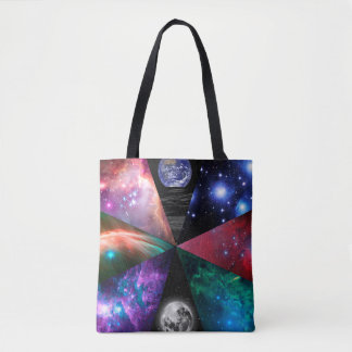 Astronomy Collage Tote Bag