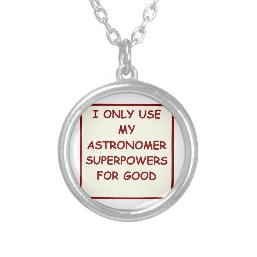 astronomy custom necklace