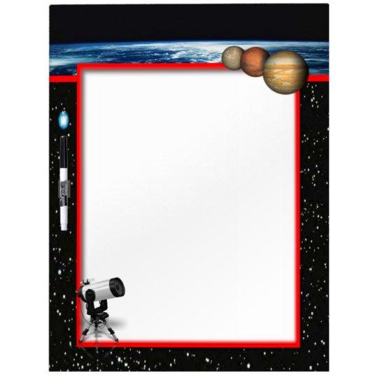 Astronomy Dry Erase Board