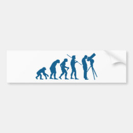 Astronomy Evolution Bumper Sticker