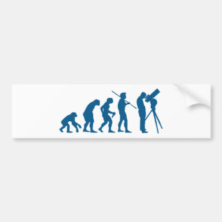 Astronomy Evolution Bumper Sticker