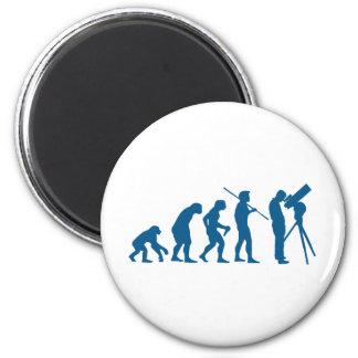 Astronomy Evolution Refrigerator Magnet