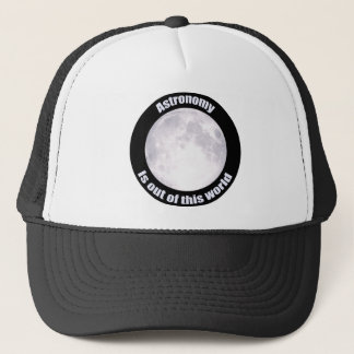 Astronomy Full Moon Trucker Hat