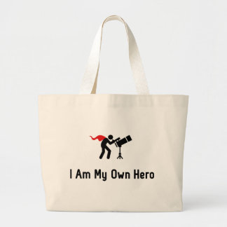 Astronomy Hero Large Tote Bag