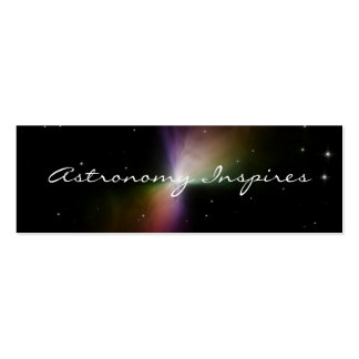 Astronomy Inspires - Save JWST Double-Sided Mini Business Cards (Pack Of 20)