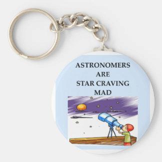 astronomy joke key chain