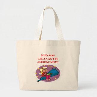 astronomy large tote bag
