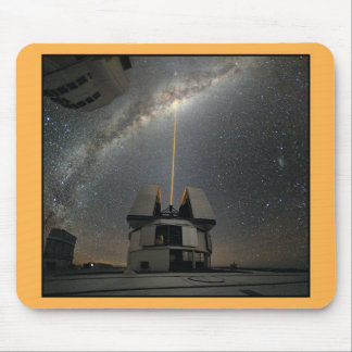 Astronomy Laser towards Milky Ways Mouse Pad