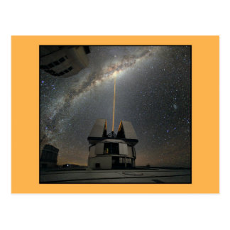 Astronomy Laser Towards Milky Ways Postcards