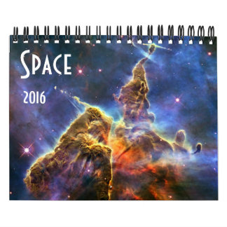 Astronomy NASA Space Universe Galaxy 2016 Calendar
