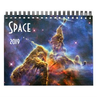 Astronomy NASA Space Universe Galaxy 2019 Calendar