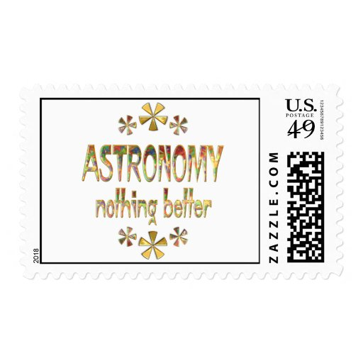 ASTRONOMY Nothing Better Stamps