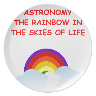 astronomy party plates