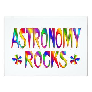 Astronomy Rocks Invitations
