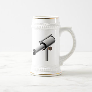 Astronomy Science Telescope Beer Stein