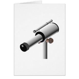 Astronomy Science Telescope Card